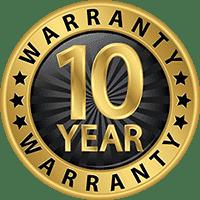 Darley guarantee 10 years