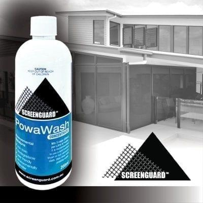 Screen guard Powa wash