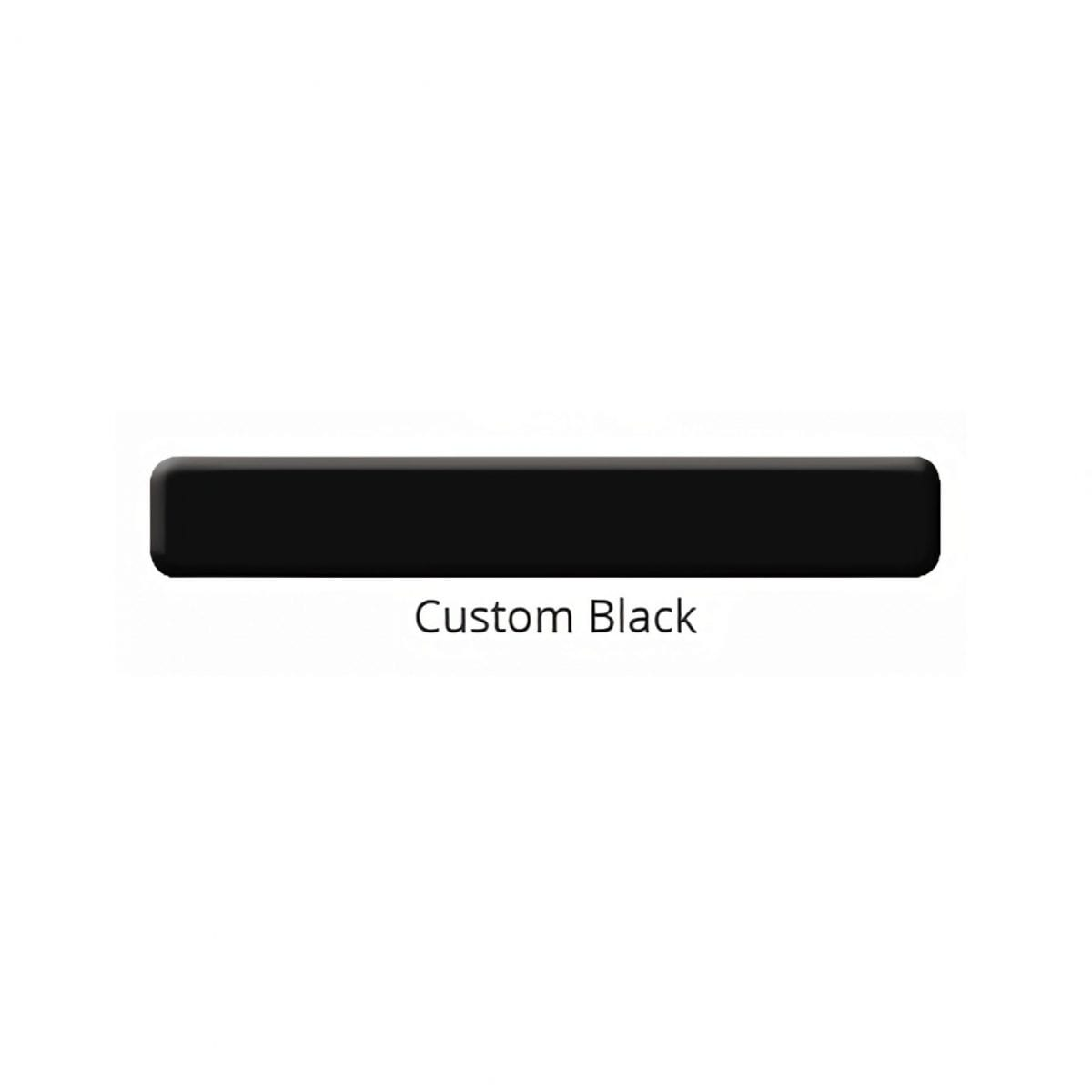 Custom Black color