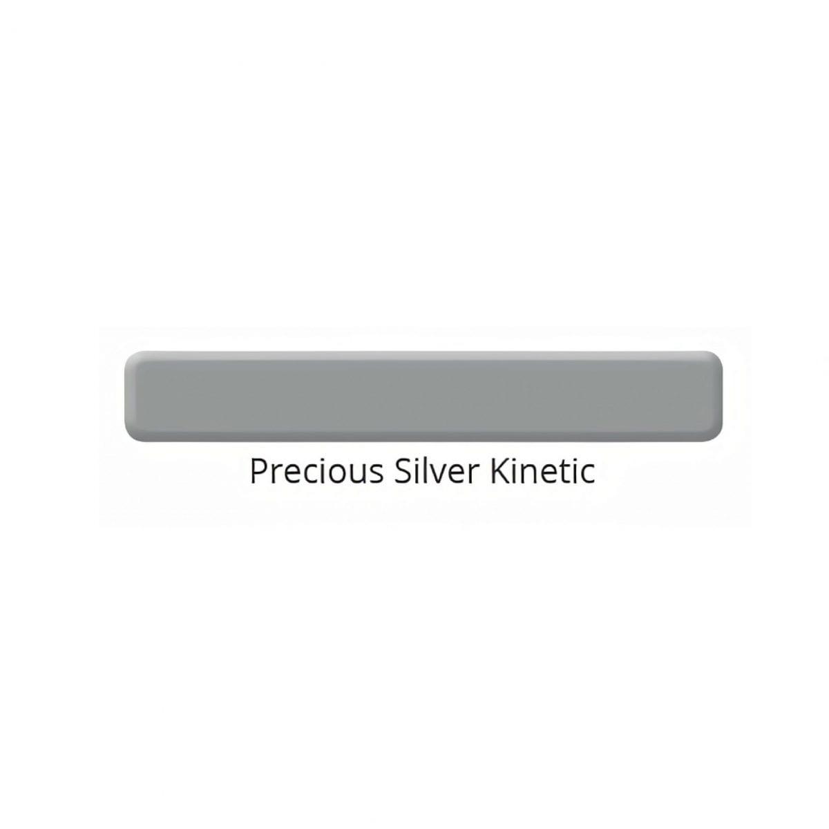 Precious Silver Kinetic color